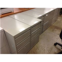 GREY MULTI DRAWER PEDESTAL