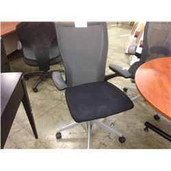 HAWORTH X99 BLACK MESH BACK FULLY ADJUSTABLE TASK CHAIR
