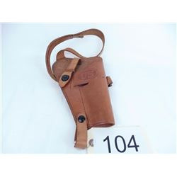 U.S. Gov't brown shoulder holster