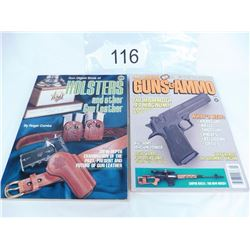 Gun Digest Book of Holsters and 1988 Annual Guns and Ammo