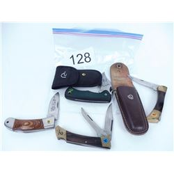 Assorted pocket knives
