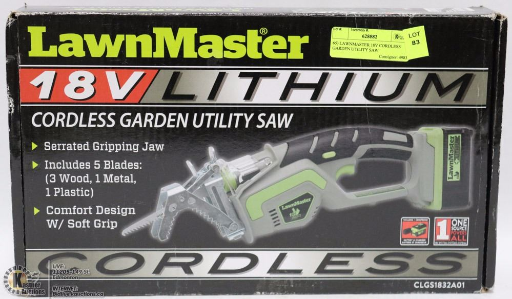 how to start lawnmaster cordless