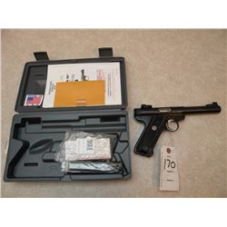 Ruger Mark III Target .22 cal -PERMIT REQUIRED SN#-22737134