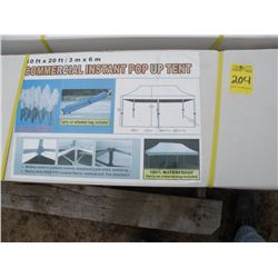 10'x20' Commercial Instant Pop-up Tent - new