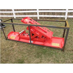 Hydro Turn Pushblade for skid loader - new