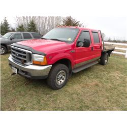 2001 Ford F-350 SN#-3FTSW31L31MA12451