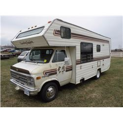 1982 Chev Country Squire Motorhome SN#-2GBJG31M1B4150891