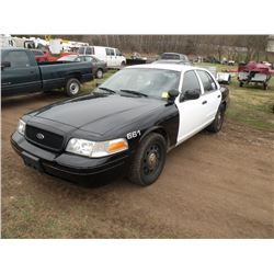 2011 Ford Crown Vic -City Owned SN#-2FABP7BV1BX120986