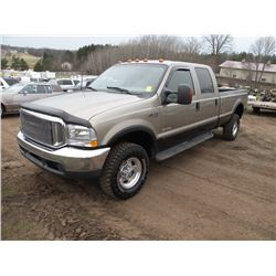 2003 Ford F-350 SN#-1FTSW31P93EC01519 Drive train noise ( Mechanic's speacial)