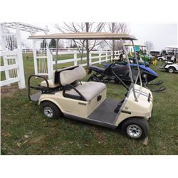 Club Car electric golf car, 4 seater w/charger SN#-A0035927175