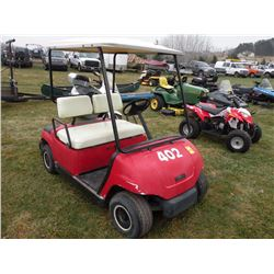 Yamaha 4-stroke gas golf car SN#-JN6303909