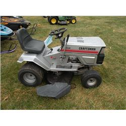 Craftsman 10hp rider mower