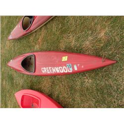 1983 Old Town 12' kayak SN#-0273ZG-Reg number