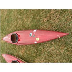 1981 Old Town 12' kayak SN#-7732ZM-Reg number