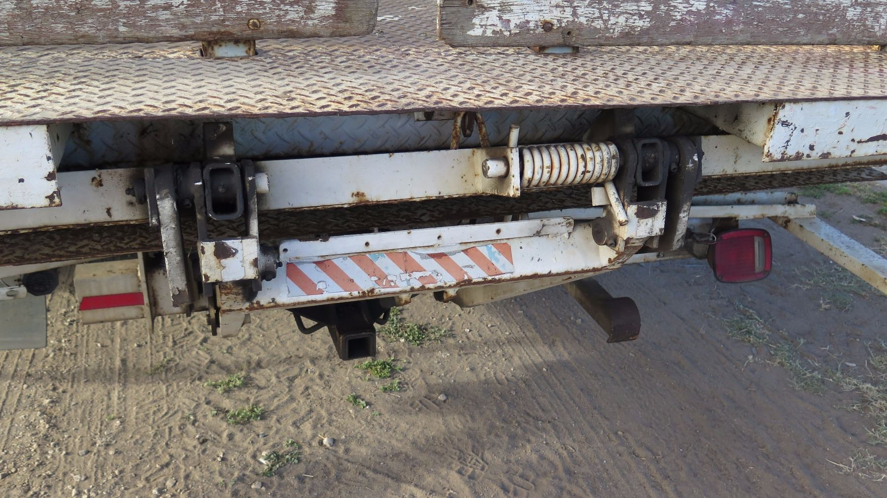 Ford F Flatbed Truck Stake Bed Ft