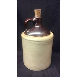 Early Brown Crock Jug