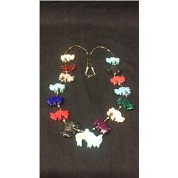 Buffalo Fetish Necklace