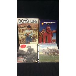4 Collectible Magazines