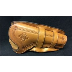 Double Loop Holster by Ron Reed Cody WY