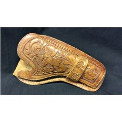 Cheyenne Plug Custom Holster Carved Leather