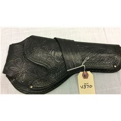 Black Single Loop Leather Holster Colt SA