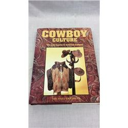 Cowboy Culture Hard Cover Book by Michael Friedman