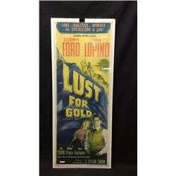 Lust For Gold Movie Poster 1949
