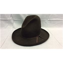 Brown 1890s Resistol Cowboy Hat
