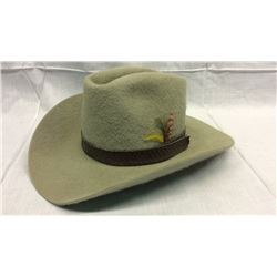 Stetson 5x Brushed Beaver Hat Size 7