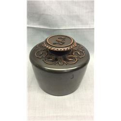 Copper Tobacco Tin