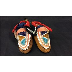 Iroquois Baby Moccasins 1890s