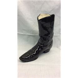 Black Ceramic Boot
