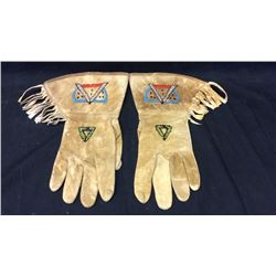 Women's Beaded Gauntlets 1940s