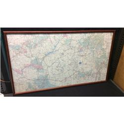 Indian Country Map Frame