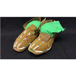 Sioux Beaded Moccasins 1930s