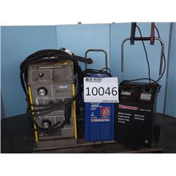 SHOP EQUIPMENT: Welder, Battery Chargers
