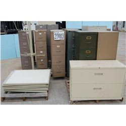 Misc. File Cabinets, Display