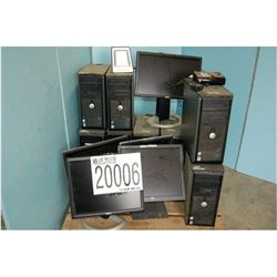 Misc. Monitors, CPUs and External Hard Drive