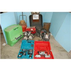 Drill Breaker, Wrenches, Propane Torch, Vacuum Pump, Band Saw
