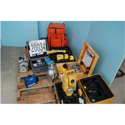 Total Station, Moisture Tester, Colorimeter, Work Lights