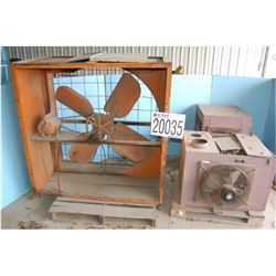 Fan, Gas Heaters