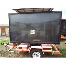 Message Board, Trailer Mounted
