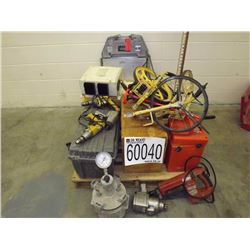 AREA 6 Misc. Air Entrainment Meter, Wrenches, Drills, Scales