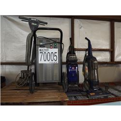 Misc. Vacuum Cleaners, Floor Machine, Dehumidifier