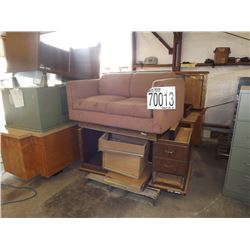 Misc. Desk, Tables, Cabinets, Sofa