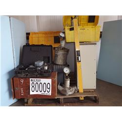 Air Entrainment meters, Gyratory Compactor, Level