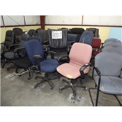 AREA 9 MISC. OFFICE CHAIRS