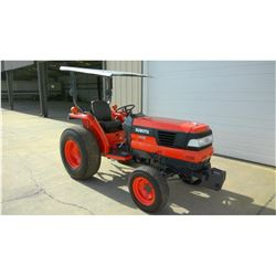 2002 KUBOTA L4310D Farm Tractor SN:73194 - 3 PTH, PTO, canopy, turf tires, meter reading 419 hours