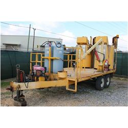2006 MB COMPANY APPLICATOR SN:SW120958PA -Thermoplastic marking applicator, gas engine, mtd. on T/A