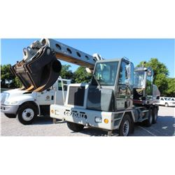 "2007 GRADALL XL4100 II Wheeled Excavator SN:4100000163 - Mercedes engine, 36"" bucket, 60"" clean out"